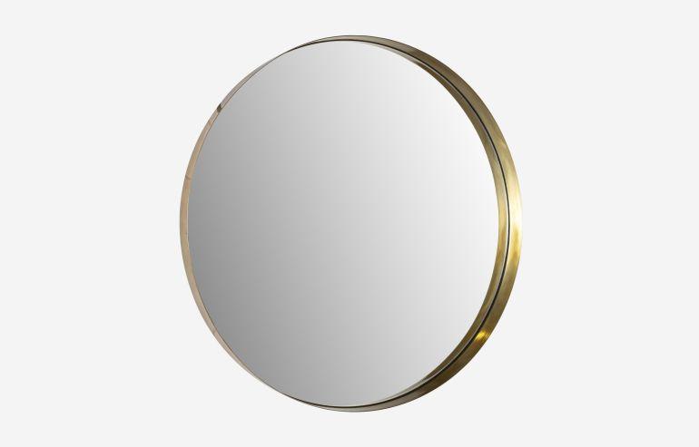 Espejo Mirror dorado