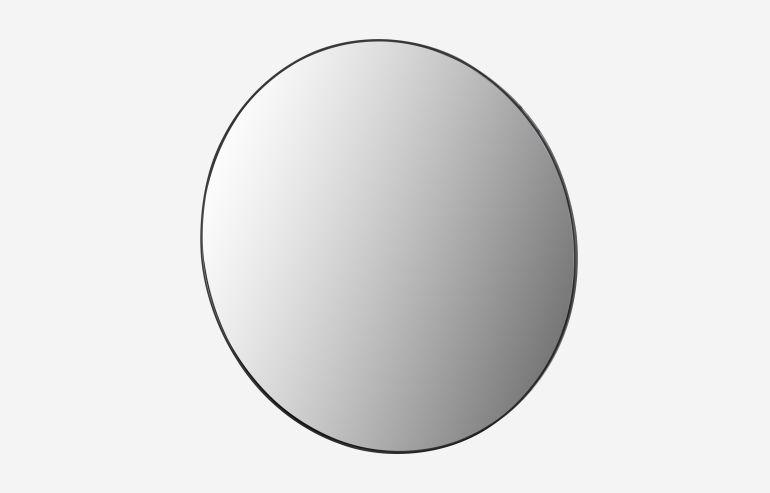 Espejo Mirror negro 116 cm