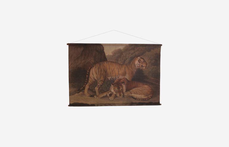 Cuadro de tela Tiger