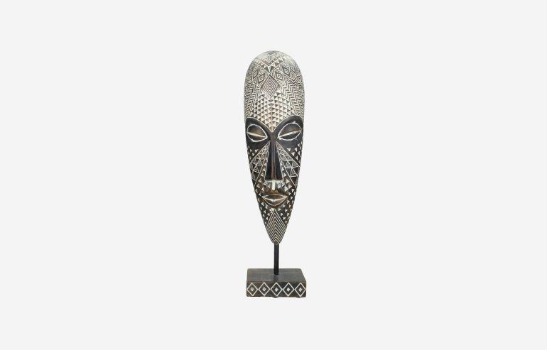 Máscara de polirresina africana