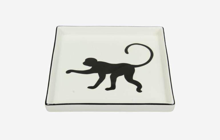 Bandeja de cerámica Mono
