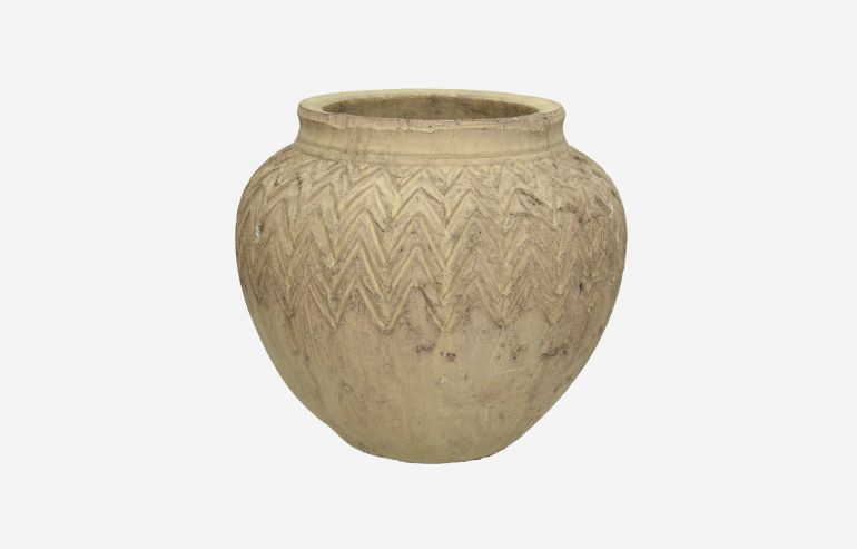 Maceta terracota marrón