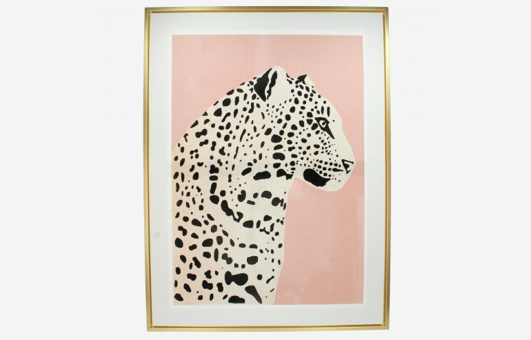 Cuadro Leopardo canvas