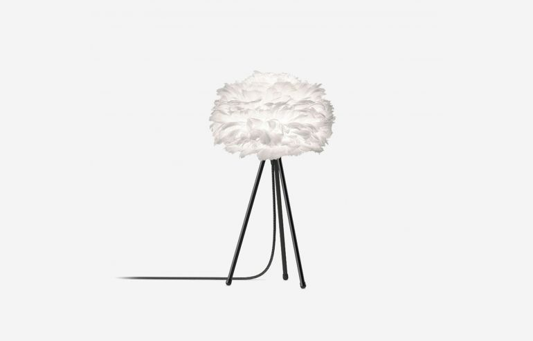 Eos mini white table lamp