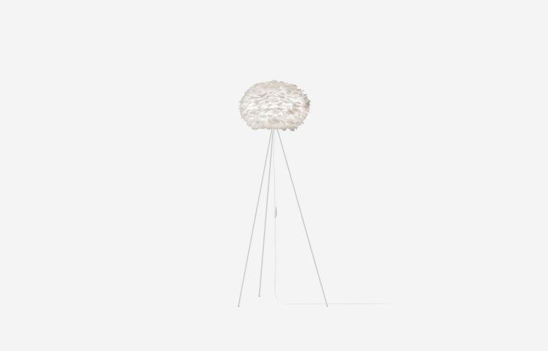 Lámpara de pie Eos medium blanco