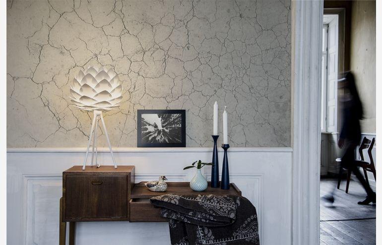 Silvia mini white table lamp