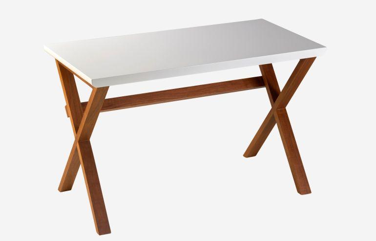 Unmade desk
