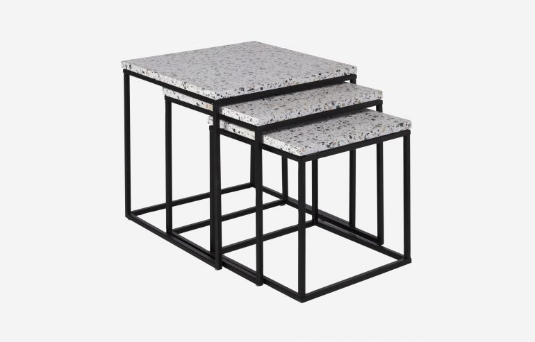 Terra set of 3 nesting tables