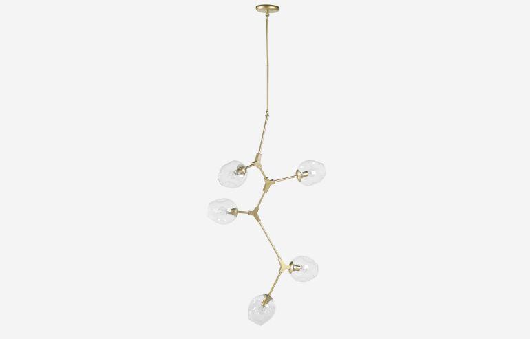 Lámpara de techo Beyond dorado