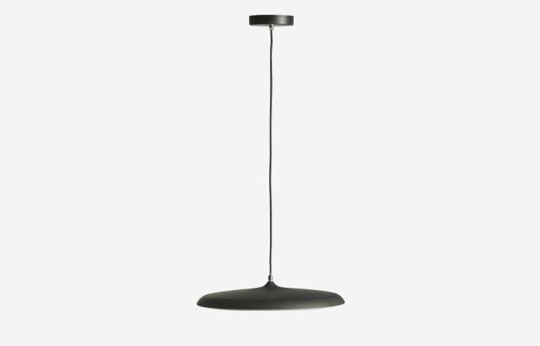 Lámpara de techo Drop negro