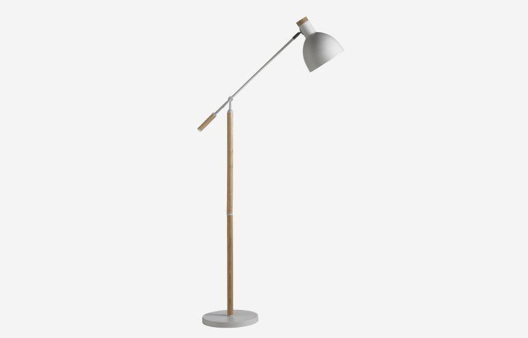 Lámpara de pie Ground blanco