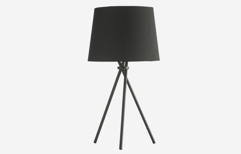Lámpara de sobremesa Tipi negro