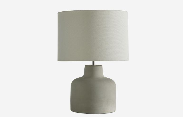 Lámpara de sobremesa Zuli gris