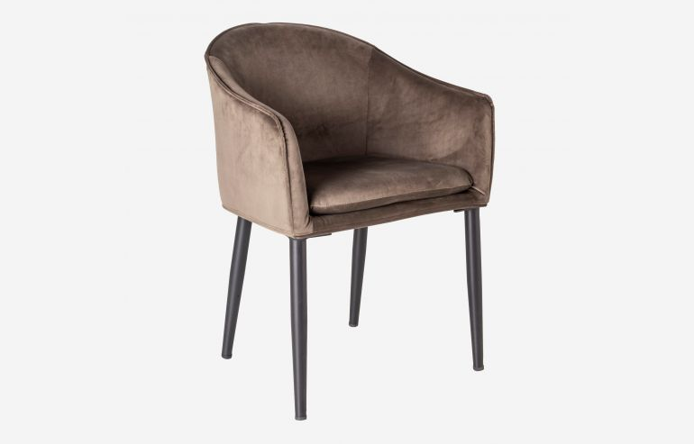 Here champagne armchair