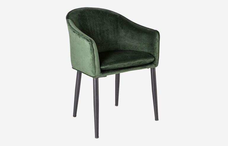 Here green armchair