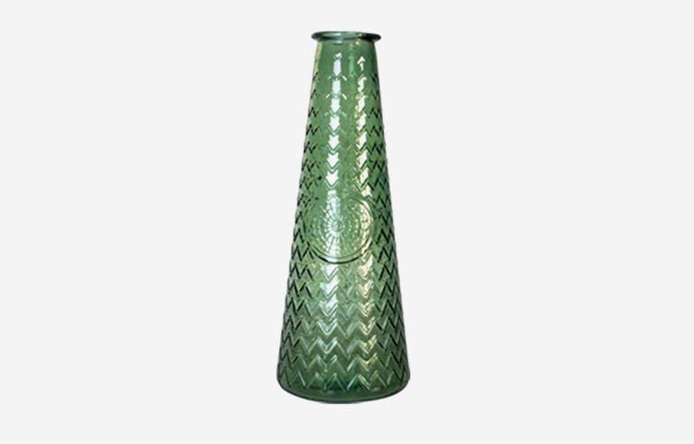 Jarrón Mandala verde 55 cm