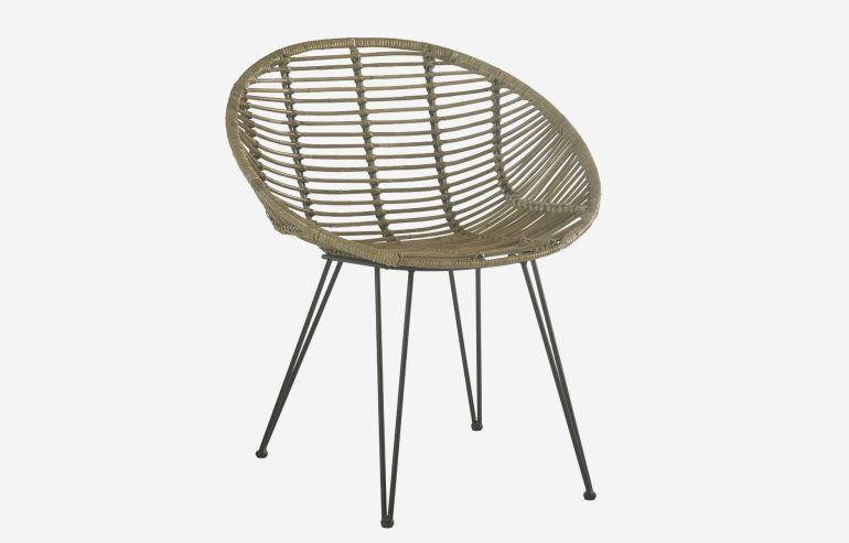 Lombok rattan armchair