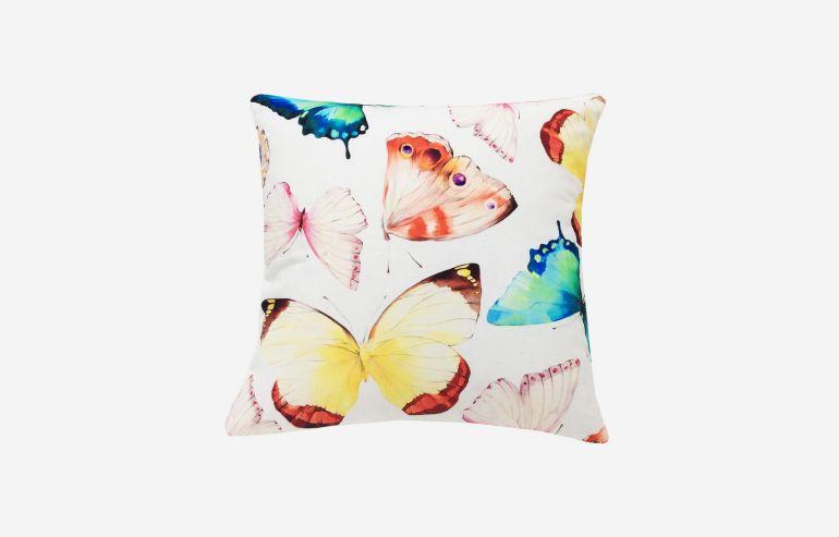 Cojín 45x45 mariposa