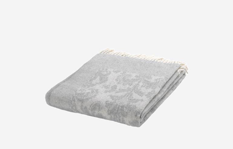 Manta gris 130x170 cm