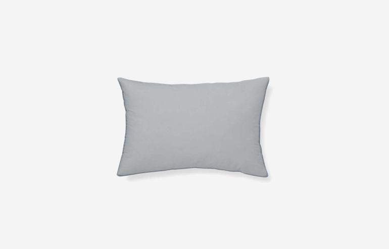 Cojín algodón Cervantes azul 45x30 cm