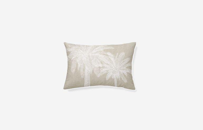 Cojín algodón Tropical 45x30 cm
