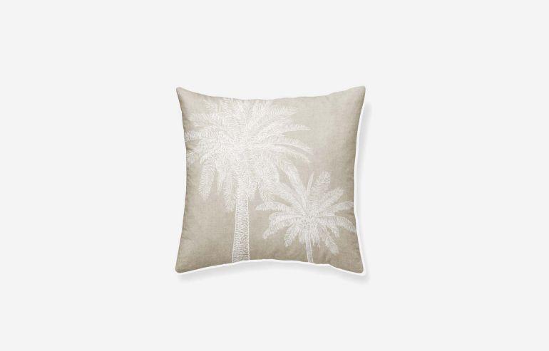 Cojín algodón Tropical 45x45 cm