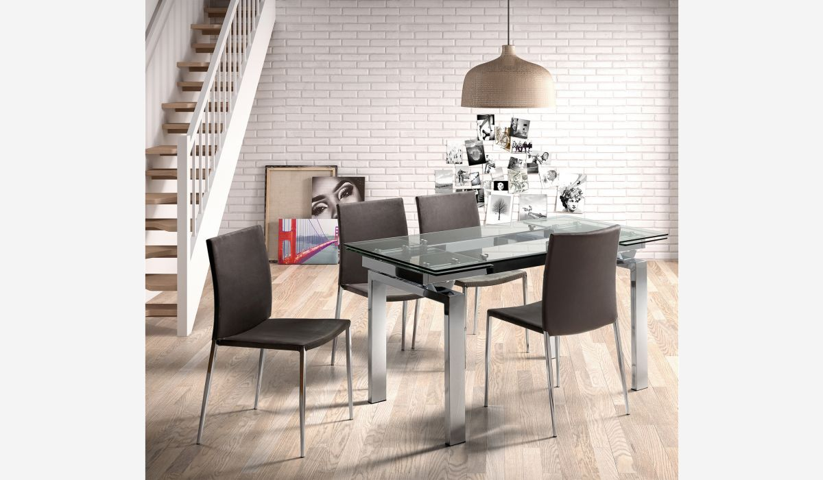 Mesa de comedor extensible Urban empire