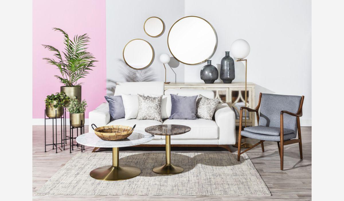 Aura corner table