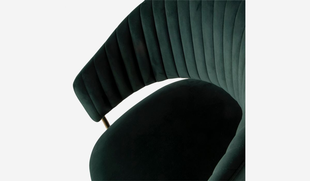 Silla Leslie verde