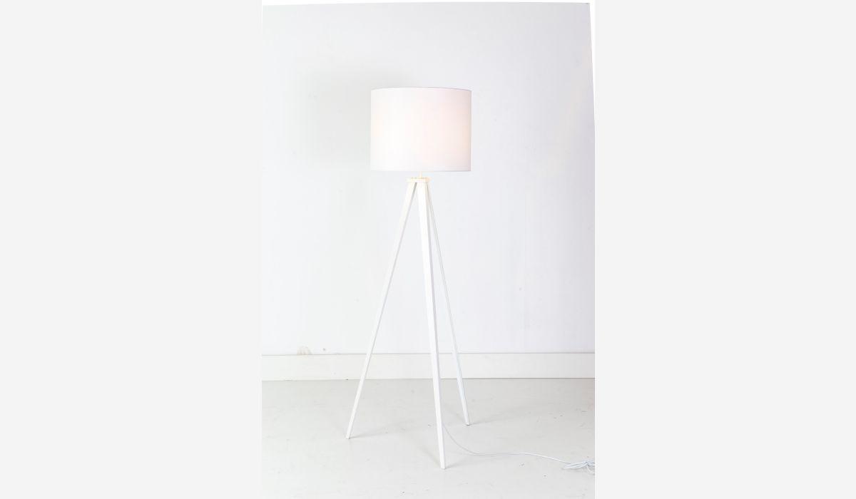 Lámpara de pie Go blanco