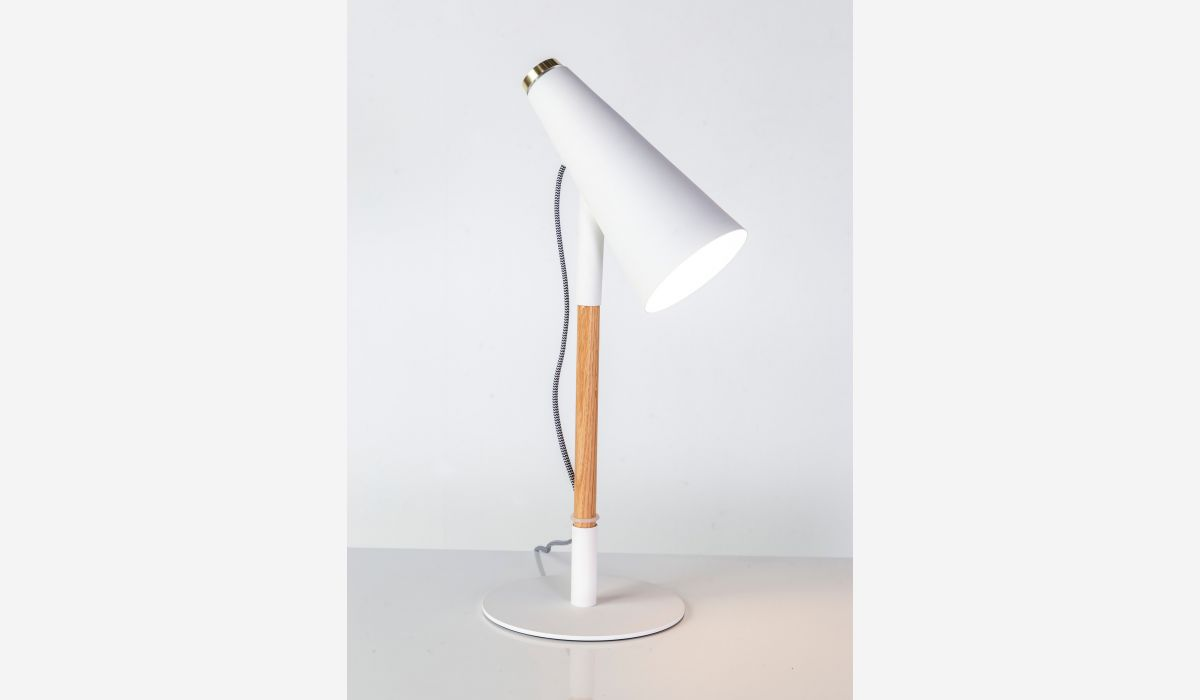 Lámpara de sobremesa Delicious blanco