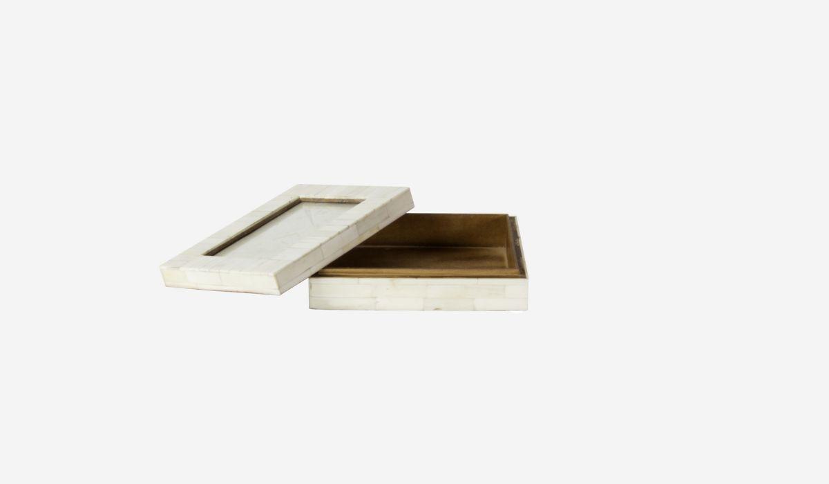 Caja-marco Nácar