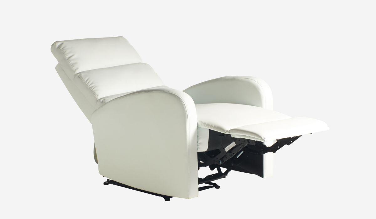 Butaca relax Soft blanco