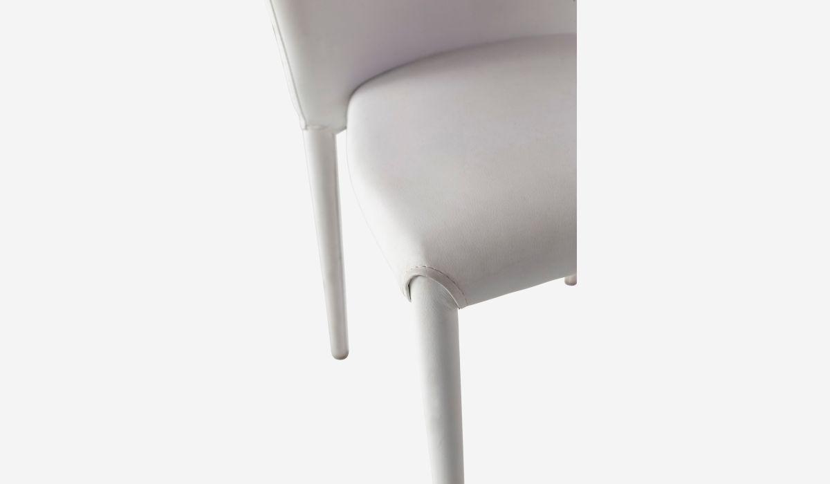 Silla Cocoon blanco