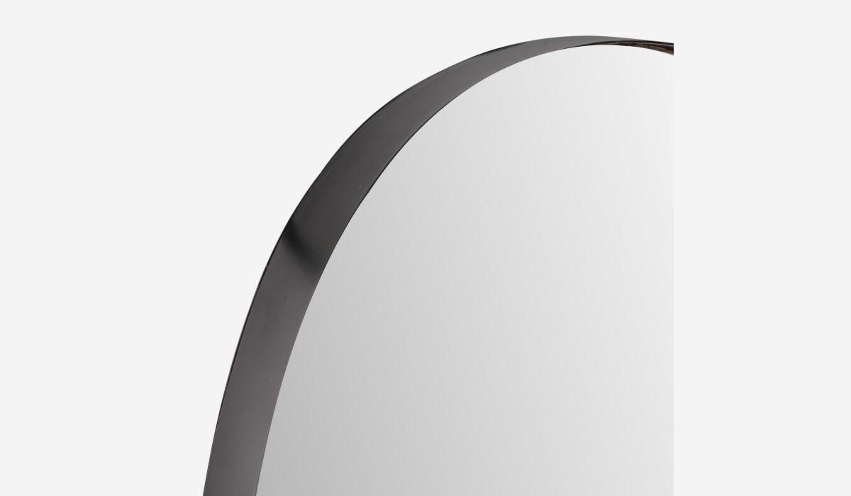 Espejo ovalado Mirror negro