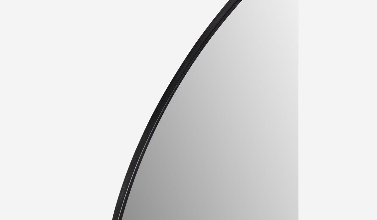Espejo Mirror negro 96 cm