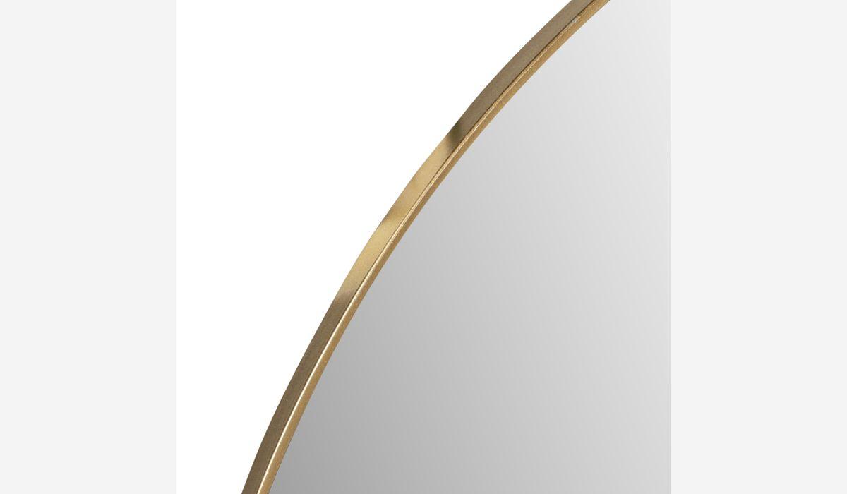 Espejo Mirror dorado 116 cm