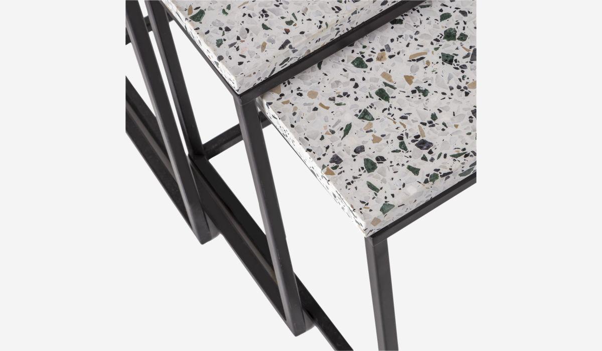 Terra set of 3 nesting tables