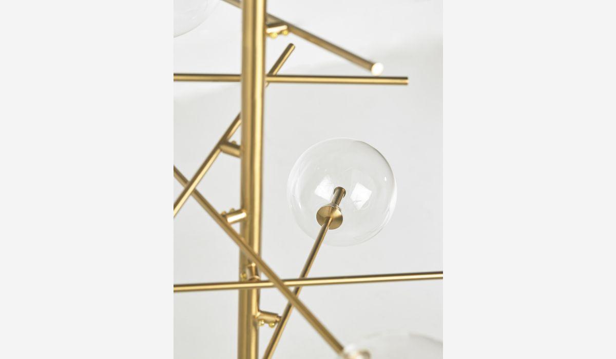 Lámpara de techo Galaxy dorado