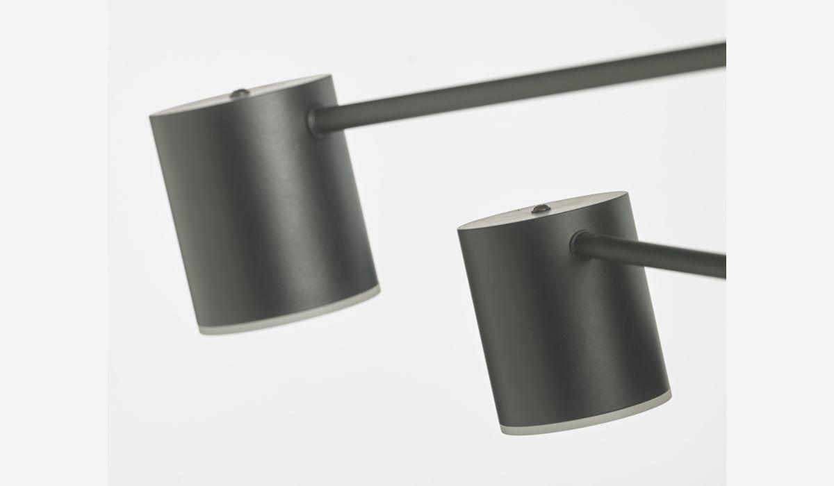 Lámpara de techo Cilinder negro