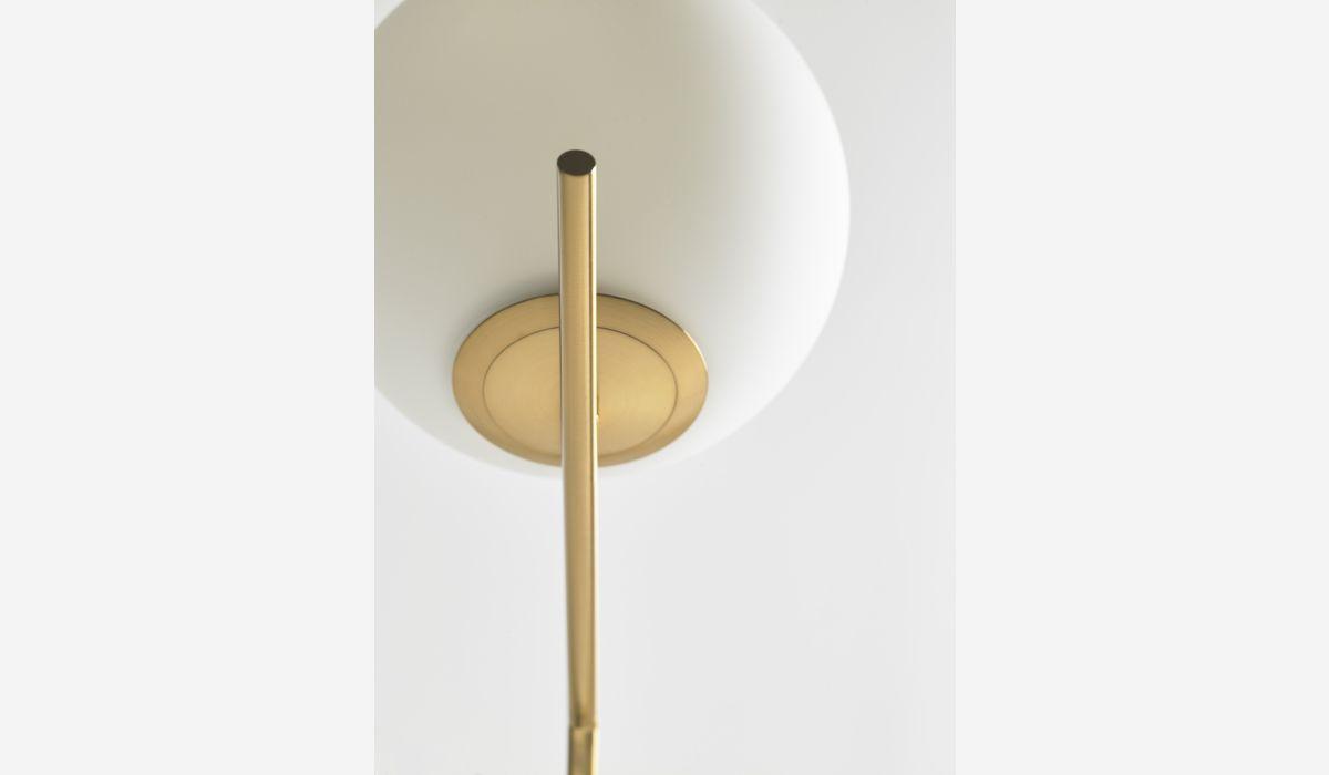 Lámpara de pie Identity dorado