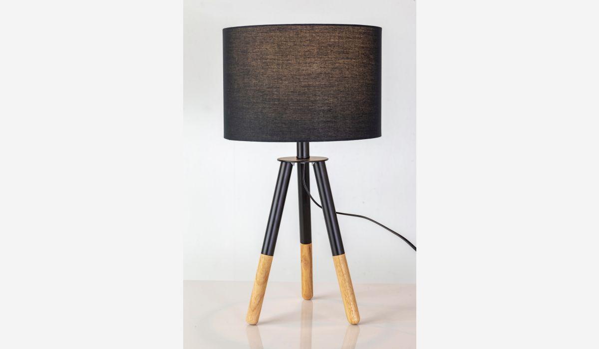 Lámpara de sobremesa Nature negro