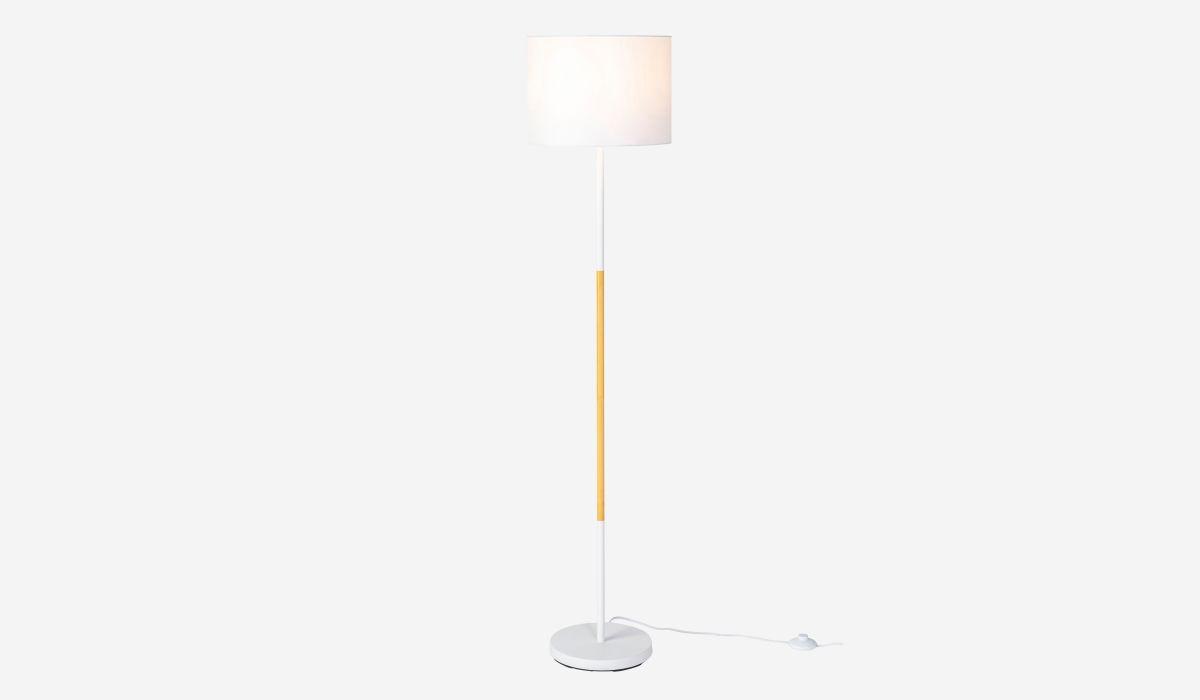 Lámpara de pie Craft blanco
