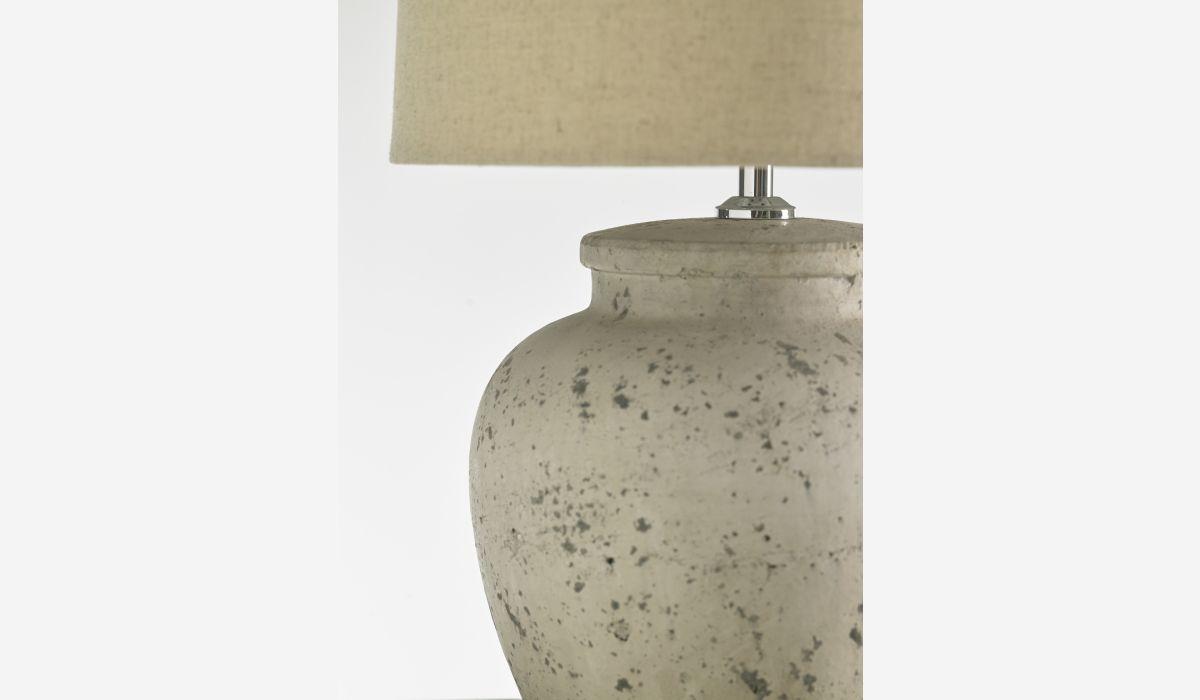 Lámpara de sobremesa Santorini blanco