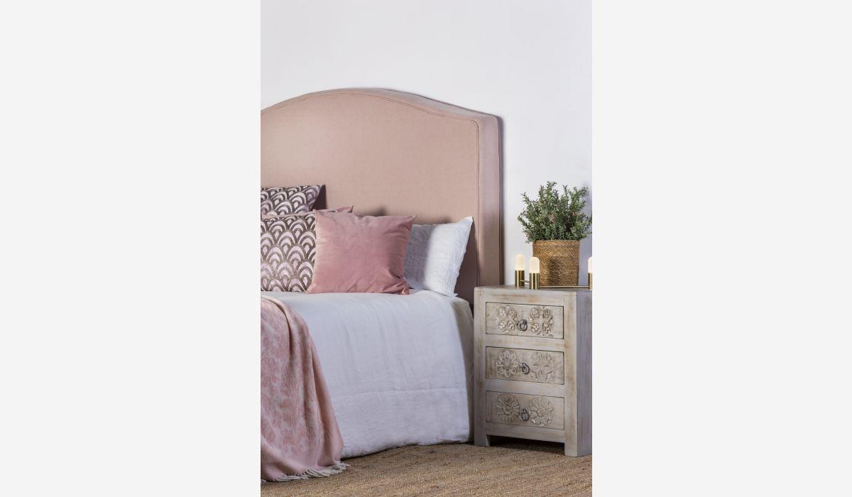 Cabecero Hacienda rosa