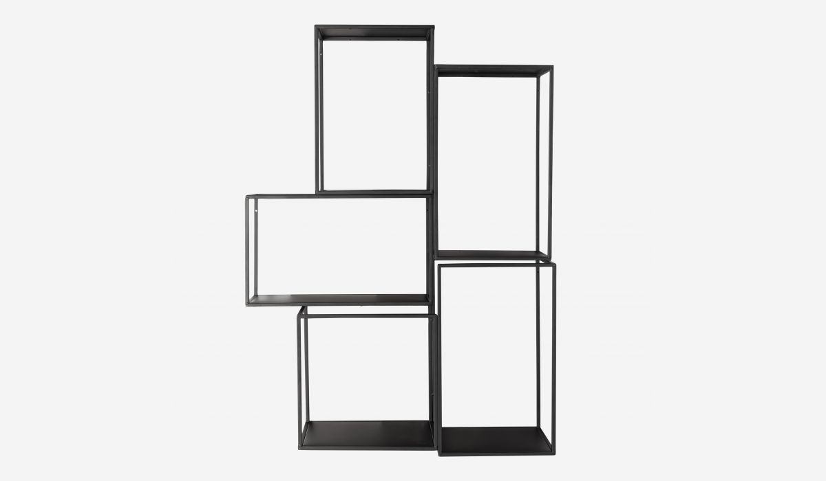 Hang black shelf