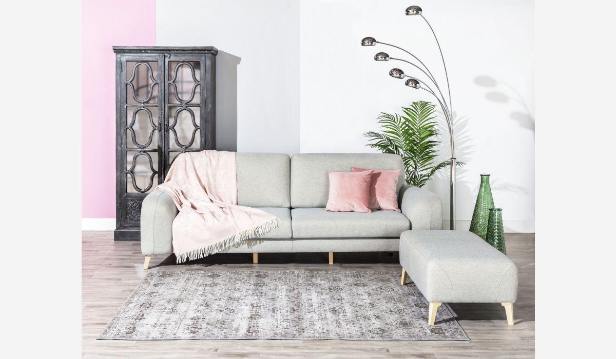Manta rosa 130x170 cm
