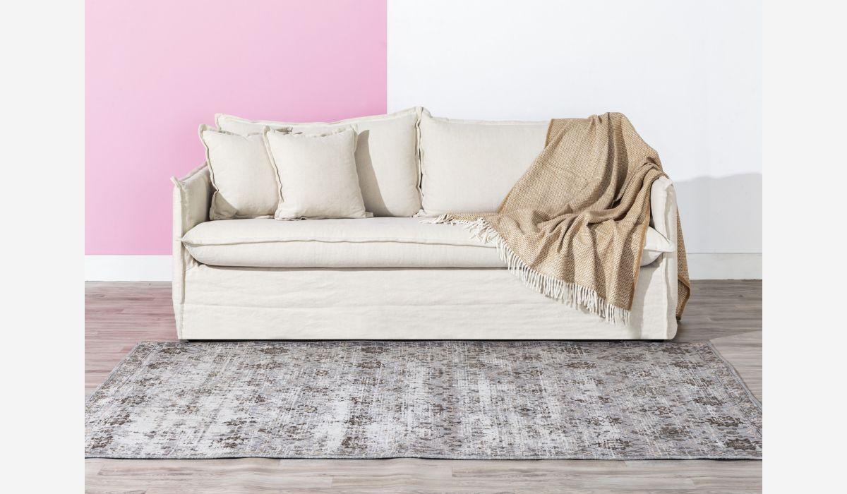 Manta beige 130x170 cm