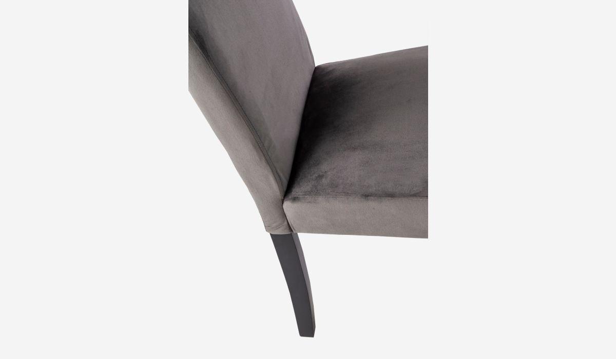 Silla Comfy gris