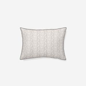 Cojín algodón Laredo gris 45x30 cm